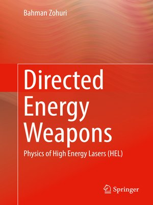 cover image of Directed Energy Weapons