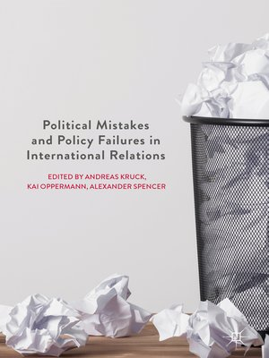 cover image of Political Mistakes and Policy Failures in International Relations
