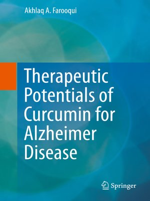 cover image of Therapeutic Potentials of Curcumin for Alzheimer Disease