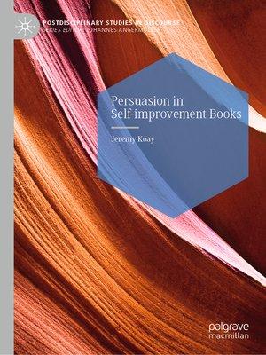 cover image of Persuasion in Self-improvement Books