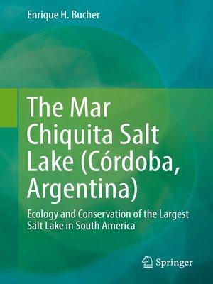cover image of The Mar Chiquita Salt Lake (Córdoba, Argentina)