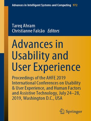 cover image of Advances in Usability and User Experience