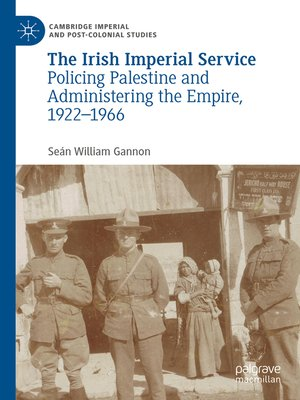 cover image of The Irish Imperial Service