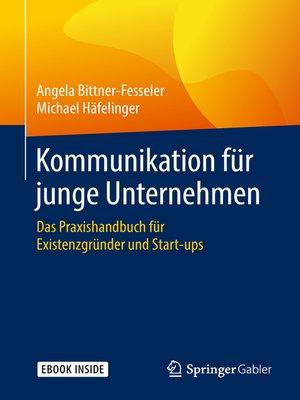 cover image of Kommunikation für junge Unternehmen