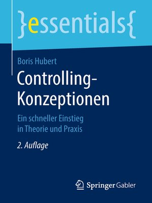 cover image of Controlling-Konzeptionen