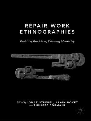 cover image of Repair Work Ethnographies