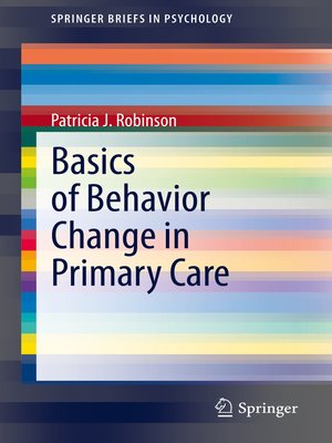 cover image of Basics of Behavior Change in Primary Care