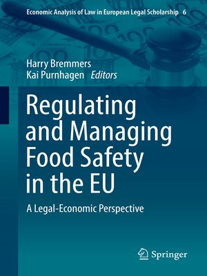cover image of Regulating and Managing Food Safety in the EU