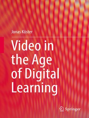 cover image of Video in the Age of Digital Learning