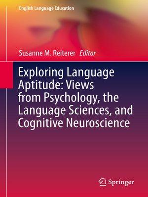 cover image of Exploring Language Aptitude
