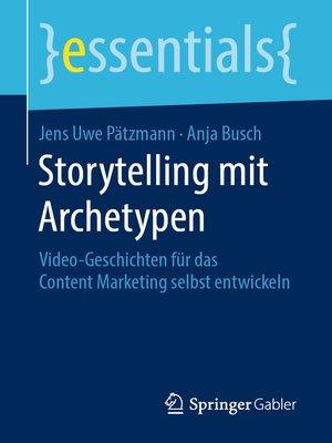 cover image of Storytelling mit Archetypen