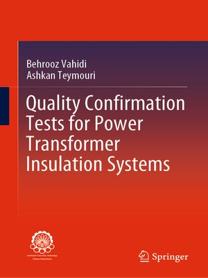 cover image of Quality Confirmation Tests for Power Transformer Insulation Systems