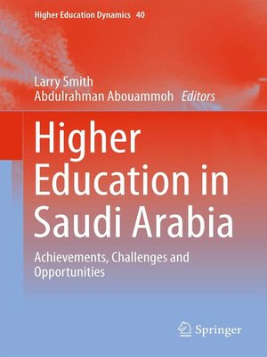 cover image of Higher Education in Saudi Arabia