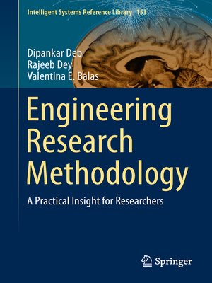 cover image of Engineering Research Methodology