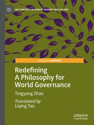 cover image of Redefining a Philosophy for World Governance
