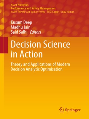 cover image of Decision Science in Action