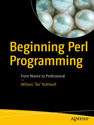 cover image of Beginning Perl Programming