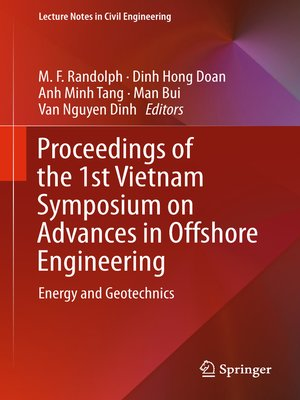 cover image of Proceedings of the 1st Vietnam Symposium on Advances in Offshore Engineering