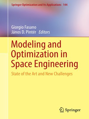 cover image of Modeling and Optimization in Space Engineering