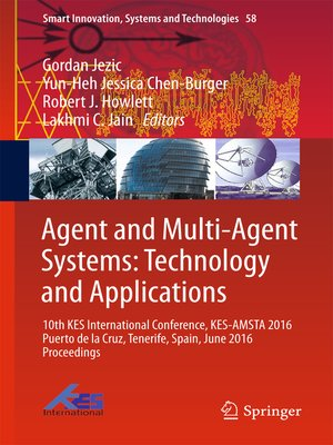 cover image of Agent and Multi-Agent Systems