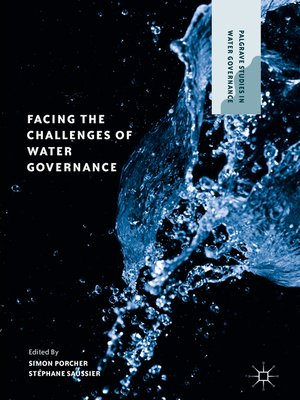 cover image of Facing the Challenges of Water Governance