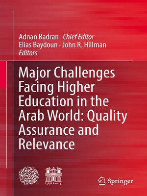 cover image of Major Challenges Facing Higher Education in the Arab World
