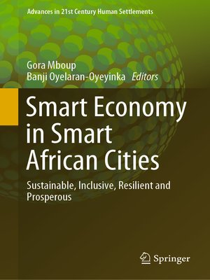 cover image of Smart Economy in Smart African Cities