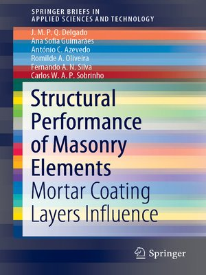cover image of Structural Performance of Masonry Elements