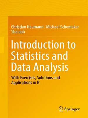 cover image of Introduction to Statistics and Data Analysis