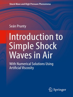 cover image of Introduction to Simple Shock Waves in Air
