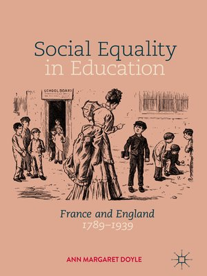 cover image of Social Equality in Education