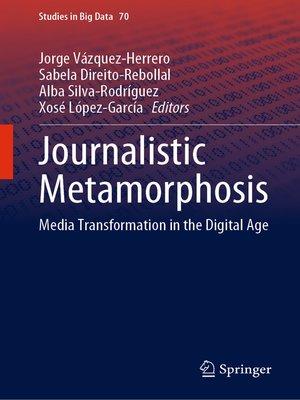 cover image of Journalistic Metamorphosis