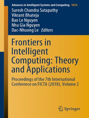 cover image of Frontiers in Intelligent Computing