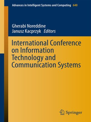 cover image of International Conference on Information Technology and Communication Systems