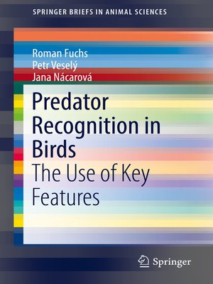 cover image of Predator Recognition in Birds