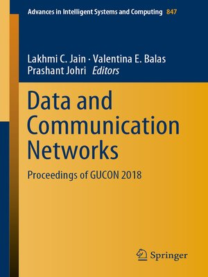 cover image of Data and Communication Networks