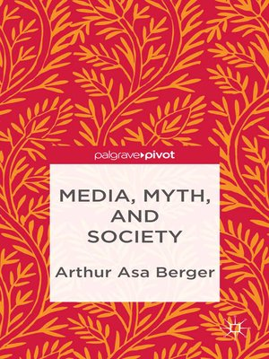 cover image of Media, Myth, and Society