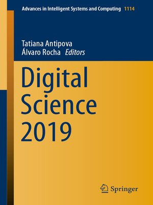 cover image of Digital Science 2019