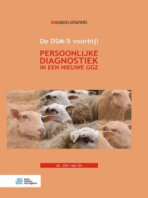 cover image of De DSM-5 voorbij!