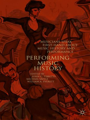 cover image of Performing Music History