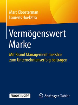 cover image of Vermögenswert Marke