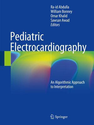 cover image of Pediatric Electrocardiography