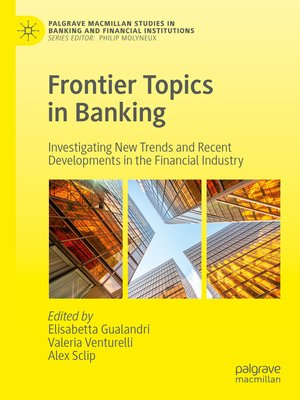 cover image of Frontier Topics in Banking