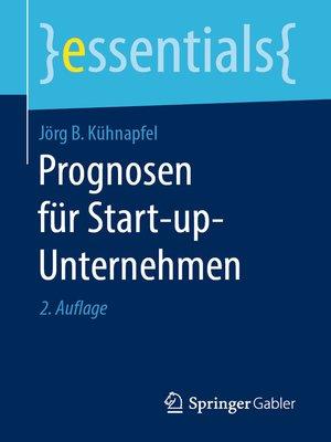 cover image of Prognosen für Start-up-Unternehmen