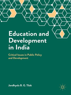 cover image of Education and Development in India