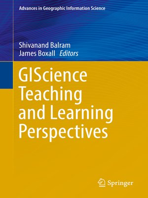 cover image of GIScience Teaching and Learning Perspectives