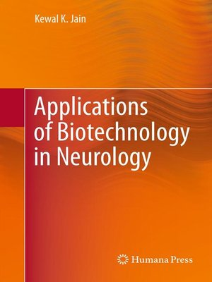 cover image of Applications of Biotechnology in Neurology