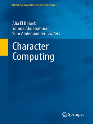 cover image of Character Computing