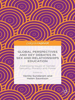 cover image of Global Perspectives and Key Debates in Sex and Relationships Education
