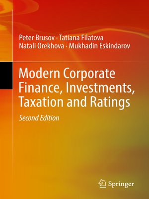 cover image of Modern Corporate Finance, Investments, Taxation and Ratings